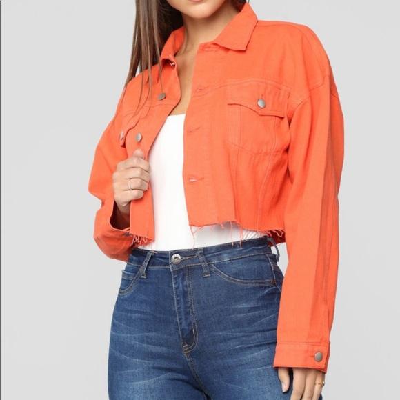Fashion Nova Jackets & Coats | Bright Lights Denim Jacket Neon ...